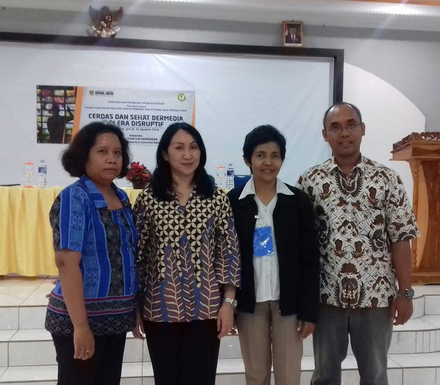 Pelatih Training of Trainers Literasi Media